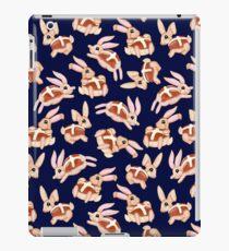 Hot Cross Bunnies - Navy iPad Case/Skin