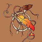 Feather Wheel by bettinadreier75