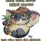 Koala - taking it easy by iancoate