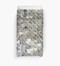 Sparkly Silver Sequins Duvet Cover