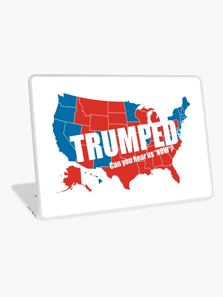 Trumped 2016 Elections USA Electoral Map Vote #MAGA Make America Great  Again HD HIGH QUALITY ONLINE STORE   Laptop Skin