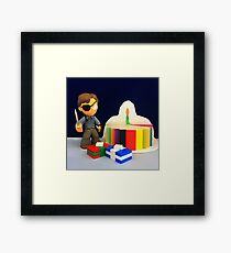 Governor Birthday Framed Print