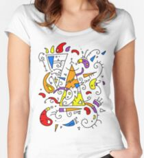 Artistic t-shirt Women's Fitted Scoop T-Shirt