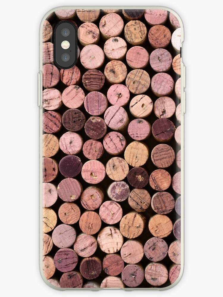 Red Wine Cork Pattern by wineimages