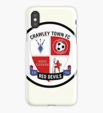crawley town fc iPhone Case