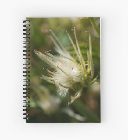 Clematis in the wild (1) Spiral Notebook