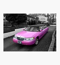 pink limo ... Photographic Print