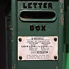 Hauteville Green Post Box by CreativeEm
