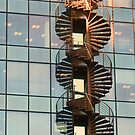 Double helix by Jeanne Horak-Druiff