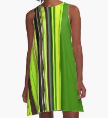 Grün A-Line Dress