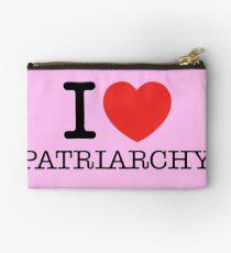 I Love Patriarchy Studio Pouch