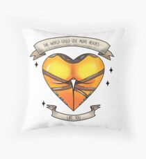 The World Could Use More... Throw Pillow
