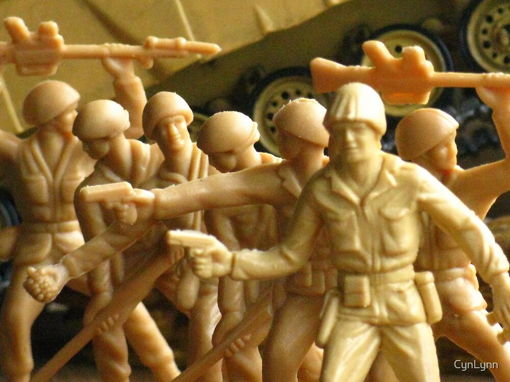Plastic Army Men by CynLynn