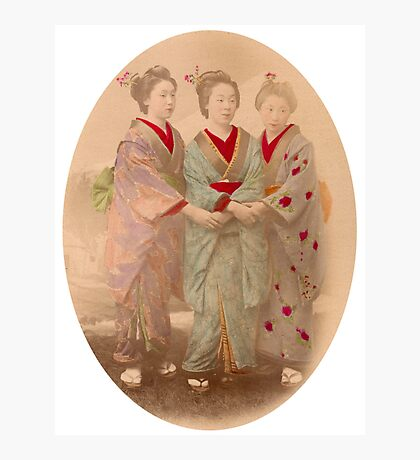 3 Geisha Photographic Print