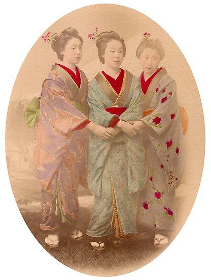 3 Geisha by Fletchsan