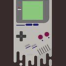 Nintendo Game Boy Melty design by gingerraccoon