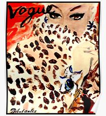 VOGUE : Vintage 1939 Debutante Advertising Print Poster