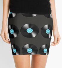 "Disco Classic Vinyl Record ""DANCE ( DISCO HEAT)"" Mini Skirt"