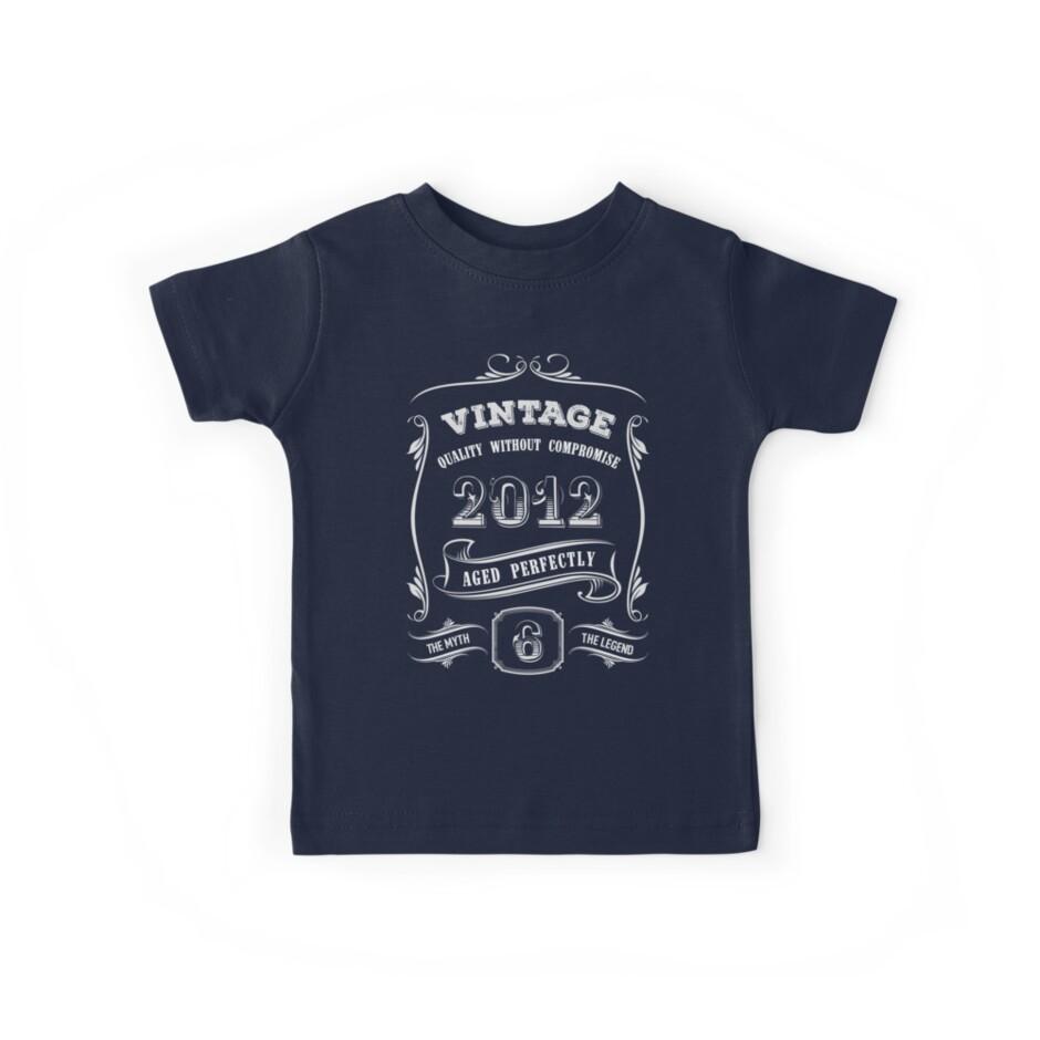 6th Birthday Shirt Boy