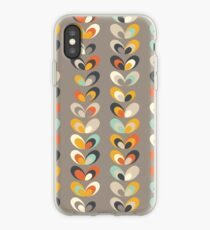 Retro seasons 06, Autumn evening iPhone Case