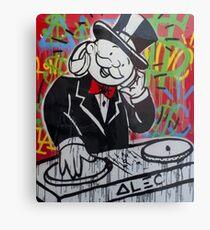 DJ Rich Uncle Pennybags Metal Print