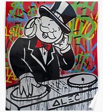 Póster DJ Rich Uncle Pennybags