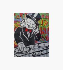DJ Rich Uncle Pennybags Art Board