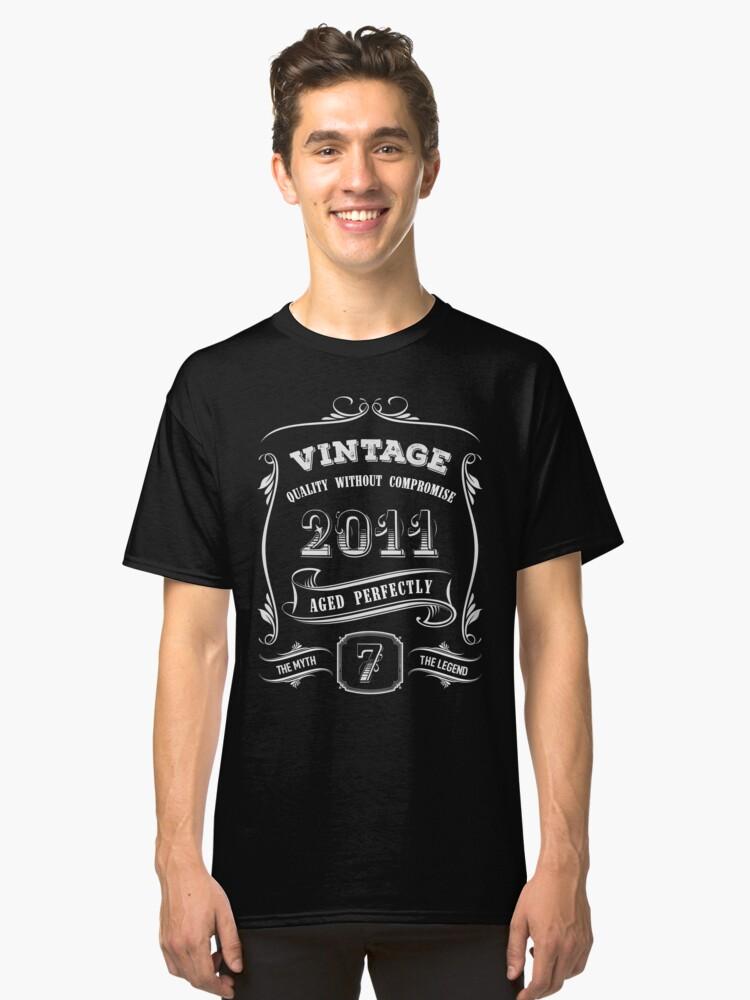 7th Birthday Shirt Boy