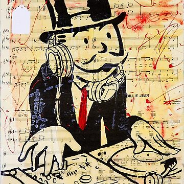 DJ Rich Uncle Pennybags 3 by hellfinger