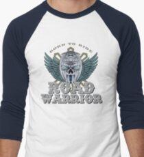 ROAD WARRIOR Skull Men's Baseball ¾ T-Shirt