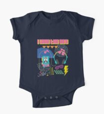 I Love The 80s Party Music Lover  One Piece - Short Sleeve