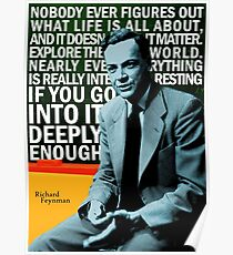 Póster Richard Feynman