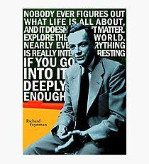 Lámina fotográfica Richard Feynman