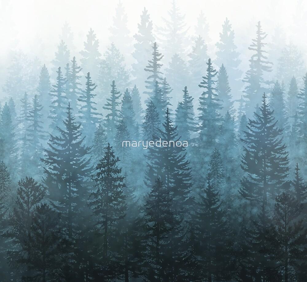 My Misty Secret Forest by maryedenoa