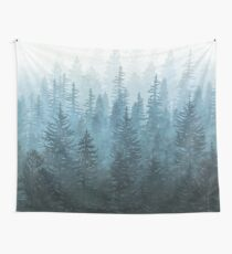 My Misty Secret Forest Wall Tapestry