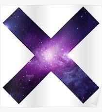 The XX Logo (Galaxy Print) Poster