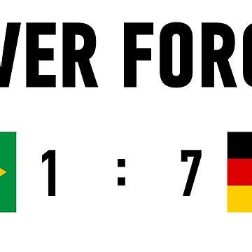 Brazil 1:7 Germany, never forget by Eurozerozero