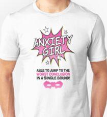 Anxiety Girl Unisex T-Shirt