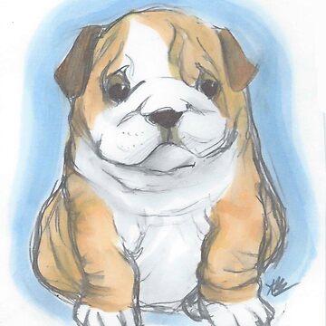Baby Bulldog by AlexBowman314