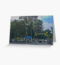 Ho Chi Minh City Intersection Greeting Card