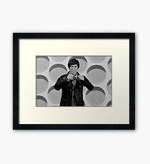 Happy 95th Birthday Patrick Troughton Framed Print