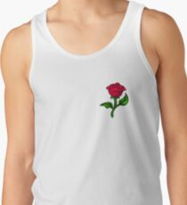 Stained Glass Rose Tank Top