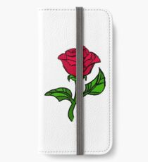 Stained Glass Rose iPhone Wallet/Case/Skin