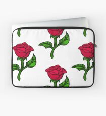 Stained Glass Rose Laptop Sleeve