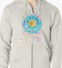 Accretion Zipped Hoodie