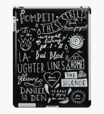 DUNKLER STURM iPad-Hülle & Klebefolie