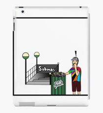 Vinilo o funda para iPad Subterraneo