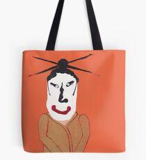 Kabuki - Martin Boisvert - Face à flaques Tote Bag