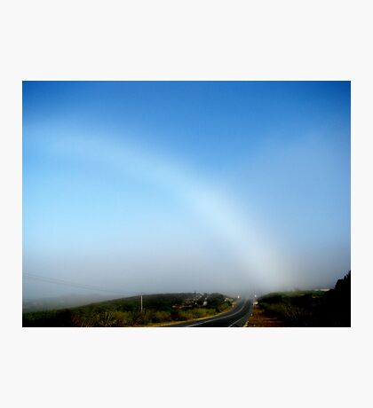 Fogbow   Photographic Print