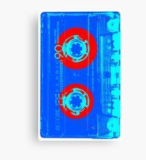 Vintage Cassette Pop Art Style Canvas Print